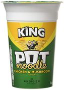 King Pot Chicken Pot Noodles minimum of 2 (1.80 Delivered with Prime)