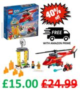 SAVE £9.99! LEGO CITY - Fire Rescue Helicopter   60281