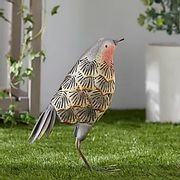 How Cute is This Metal Garden Robin -10 Pound