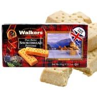 12 X Walkers Pure Butter Shortbread 375g Boxes