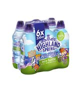 Highland Spring Kids Eco Bottle Still Water, 6 X 330 Ml Sports Cap