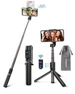 ELEGIANT Selfie Stick Tripod, 3 in 1 Mini Extendable Selfie Stick - Only £7.49!