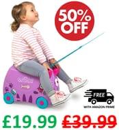 1/2 PRICE! Trunki Children's Ride-on Suitcase - Cassie Cat