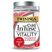 Twinings Cold Infuse Vitality with Vitamin C, 12 Infusers
