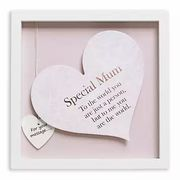 Said with Sentiment Heart Art Square Frame - Special Mum