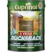 Cuprinol Ducksback Shed + Fence Treatment 5L - Choice of Colours