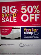 Dreams Beds up to 50% Off