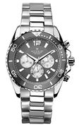 Accurist Mens Chronograph Watch with Stainless Steel Strap