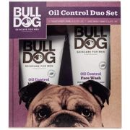 Bulldog Skincare Oil Control Duo Set Moisturiser 100ml & 150ml Face Wash