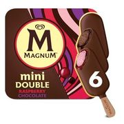 Magnum Mini Double Raspberry Chocolate 6 X 60ml