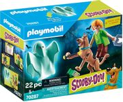 Playmobil SCOOBY-DOO! Scooby and Shaggy with Ghost |70287