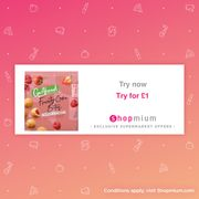 £1 Go Ahead Fruity Cake Bites