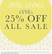 SPRING SAVINGS Extra 25% off Sale at GEMINI WOMAN