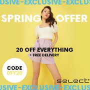 Select Fashion - Up To 90% Off + Extra 20% Code & FREE Delivery!