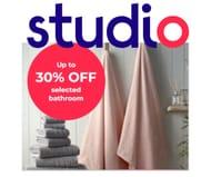 Studio Up to 30% off Selected Bathroom Buys