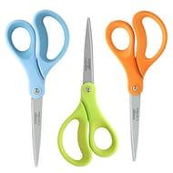 """LIVINGO Scissors, 8"""" Office Scissors Stationery, Titanium Ultra Sharp Scissors"""