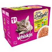 Box of Fish and Meaty Adult Cat Food 12x85g