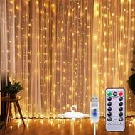 SUNSET Curtain Fairy Lights