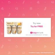Free Dairy Free Actimel