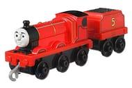 Thomas & Friends FXX21 Trackmaster Push along James, Metal Train Engine