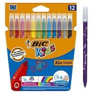 Couleur Felt Tip Pens, Assorted Colours, Pack of 12