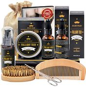 Beard Grooming & Care Kit for Men with £10 off Coupon