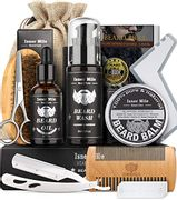 Isner Mile Perfect Beard Grooming Kit Gifts for Men with £10 off Coupon