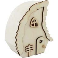 Mini Wooden Fairy House