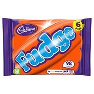 Cadbury Fudge Bars 130g - 6 Pack