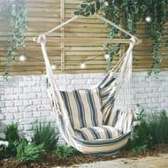 VonHaus Striped Hanging Chair