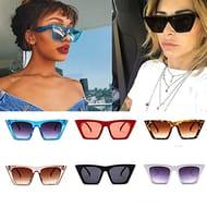 Women's Retro Anti Glare Sunglasses - Only £3.99!