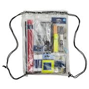 Price Drop : Tesco Stationery Essentials Draw String Backpack