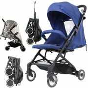 Special Offer! iSafe Super MiNi Stroller Navy Special Edition Floating Wheels