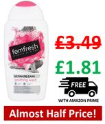 48% off - Femfresh Ultimate Care Soothing Wash 250ml