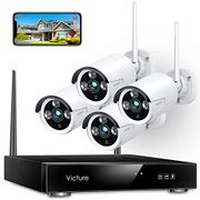 DEAL STACK - Victure Wireless CCTV Camera System ( 2021 Upgraded) + £30 Coupon