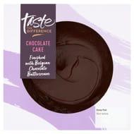 Sainsbury's Belgian Chocolate Fudge Cake, Taste Difference 395g (Serves 6)