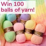 Win 100 Balls of Yarn
