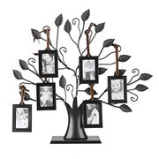 Black Metal Family Tree Display Picture Frames - Only £7.19!