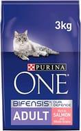 Purina One Cat Food, Salmon & WholeGrain, 3kg