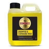 SAPP0160A Simoniz Shampoo & Carnauba Wax 1LTR