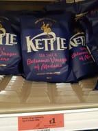 Kettle Chips Sea Salt & Balsamic Vinegar of Modena Sharing Crisps 150g