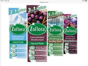 Zoflora Concentrated Disinfectant & Odour Neutraliser 120ml (Type Varies)