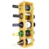 Bamboo Wall Mounted Wine Rack | M&W