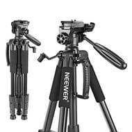 LIGHTNING DEAL - Neewer Portable Aluminum Camera Tripod