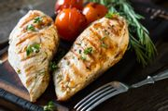 Chicken Breast (Skinless 4 in 1050g +/- Pack)
