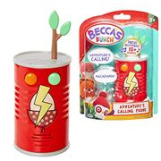 Becca's Bunch Red Tin Can Play Phone