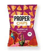 PROPERCHIPS - Barbecue 24 X 20g Packs