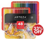Arteza Colouring Pencils, Expert Set - 48 Colours