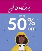 Joules Spring Sale - up to 50% OFF