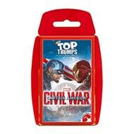Captain America: Civil War Top Trumps Card Game